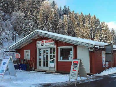 Ski hire shop Sport Harry's, St. Gallenkirch in Garfrescha Talstation