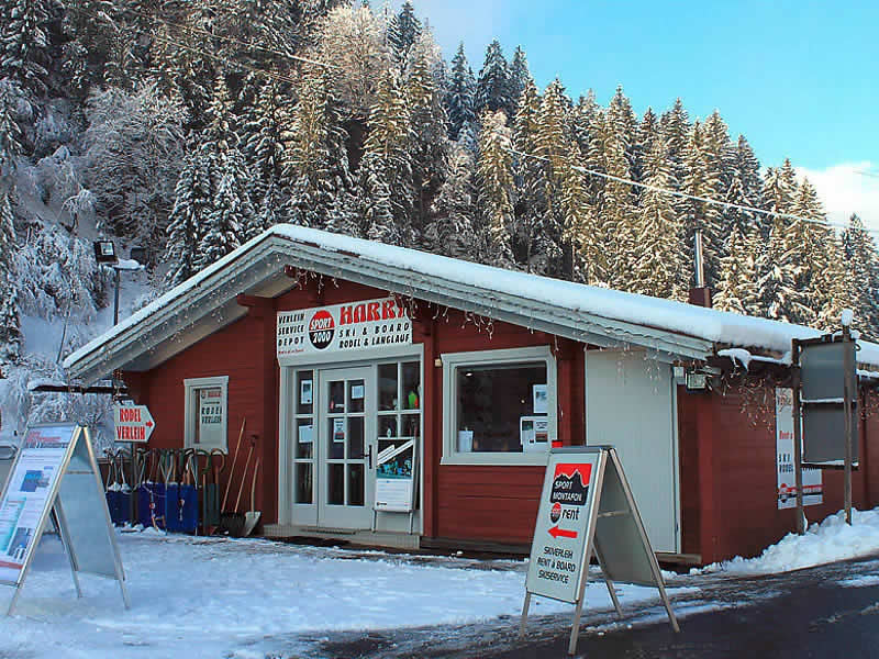 Ski hire shop Sport Harry's, Garfrescha Talstation in St. Gallenkirch