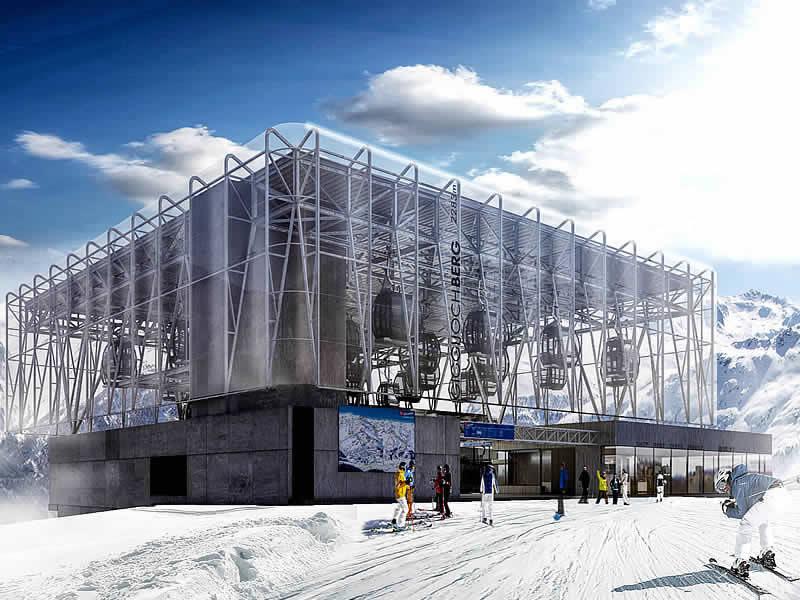 Ski hire shop Sport-Shop, Giggijochbahn Bergstation in Sölden
