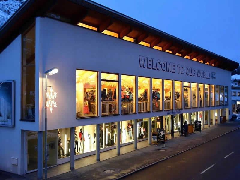 Ski hire shop Sport Lohmann, Gurglerstrasse 108 in Obergurgl