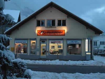 Ski hire shop Outdoor Interlaken, Interlaken in Hauptstrasse 15