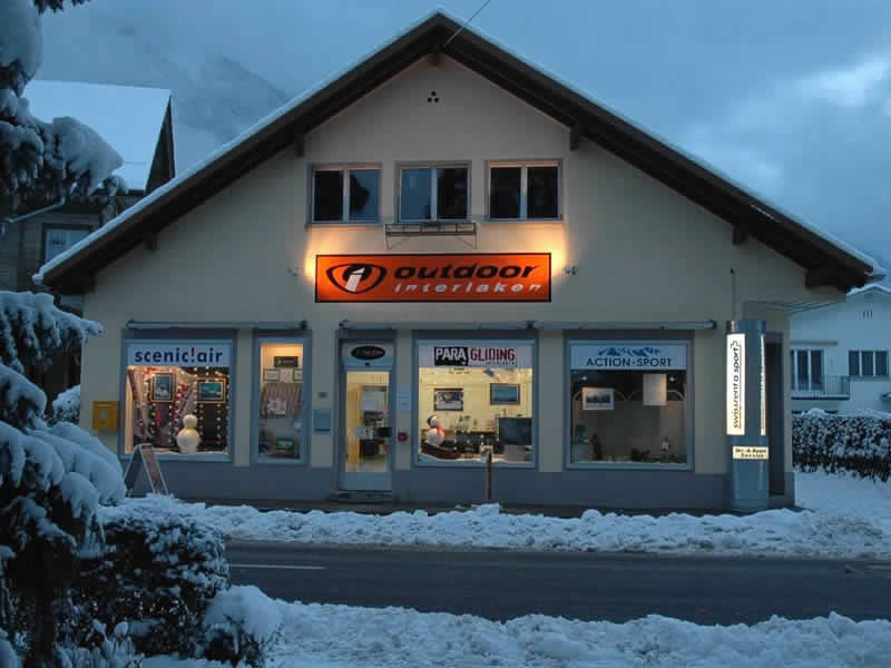 Ski hire shop Outdoor Interlaken, Interlaken in Hauptstrasse 15