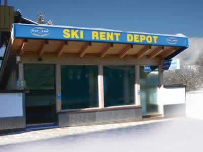 Ski hire shop Hofherr Sport, Berwang in Haus Egghof - HNr. 24