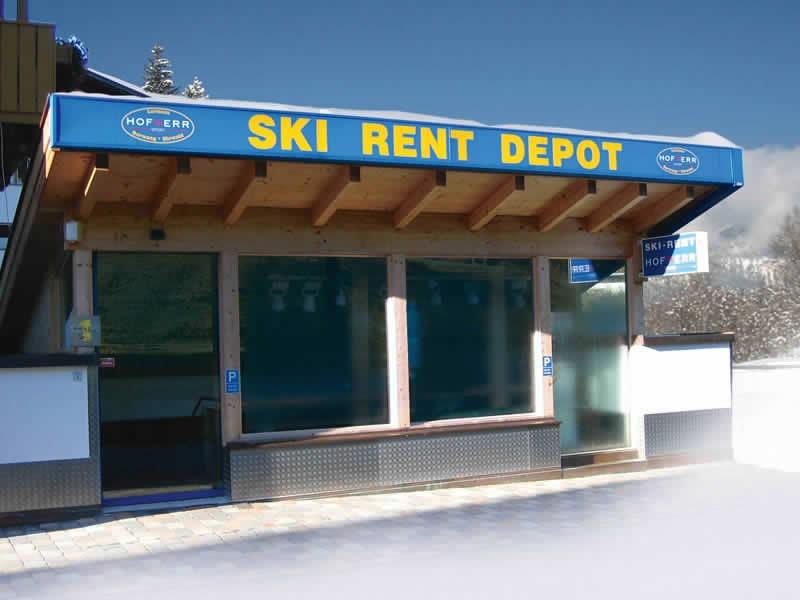Ski hire shop Hofherr Sport, Haus Egghof - HNr. 24 in Berwang
