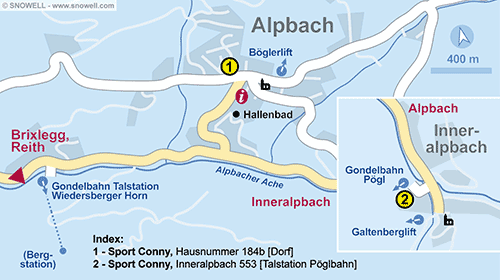 Resort Map Alpbach