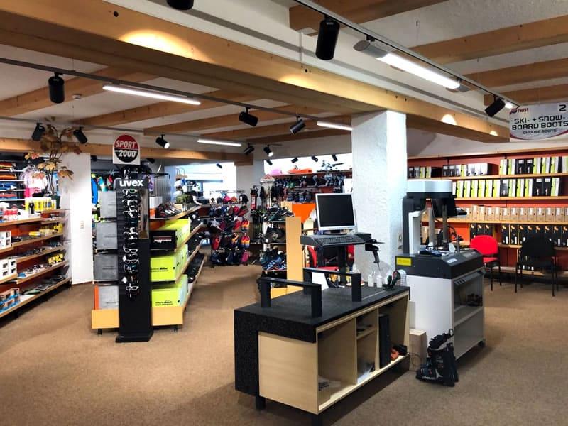 Ski hire shop SPORT 2000 Sportcenter Knitel, HNr. 54 in Warth