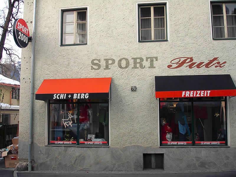 Ski hire shop SPORT 2000 Putz, HNr. 60 in Kötschach-Mauthen