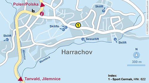 Resort Map Harrachov