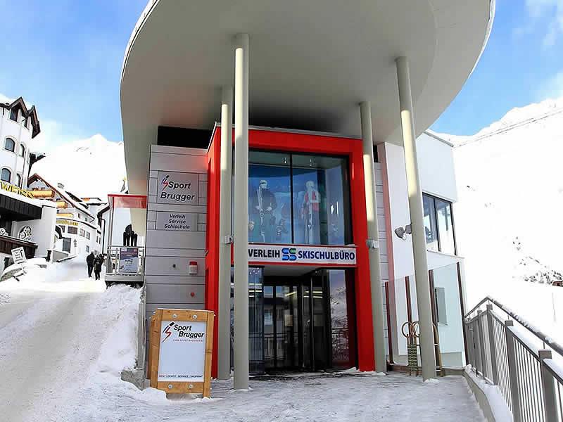 Ski hire shop Sport Brugger, Hochsölden in Hochsöldenstrasse 10