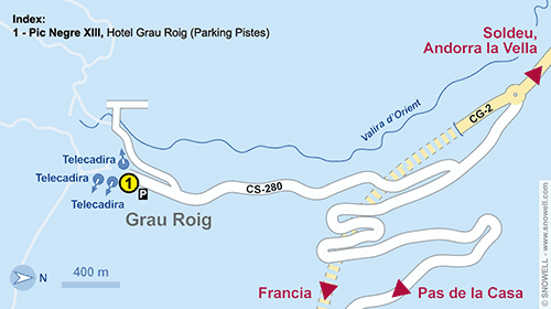Resort Map Grau Roig