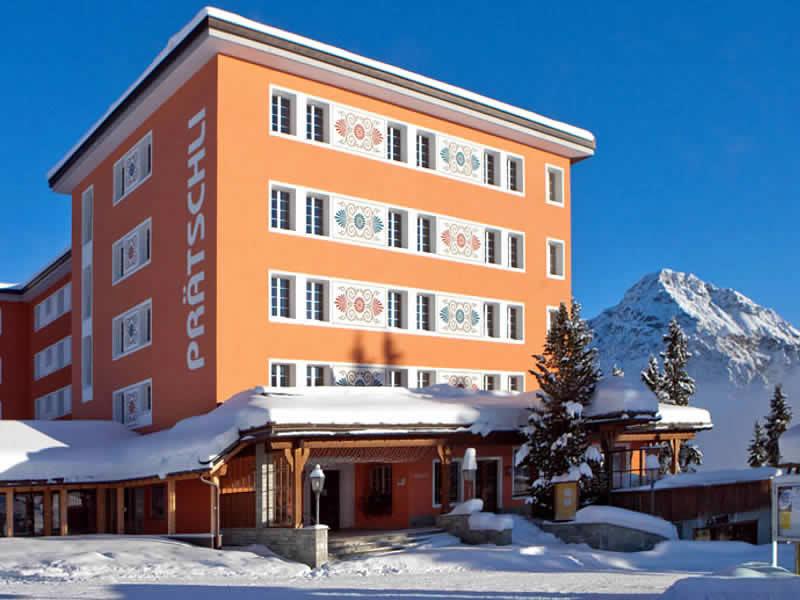 Ski hire shop Prätschli Sport, Hotel Prätschli - Arlawaldweg in Arosa