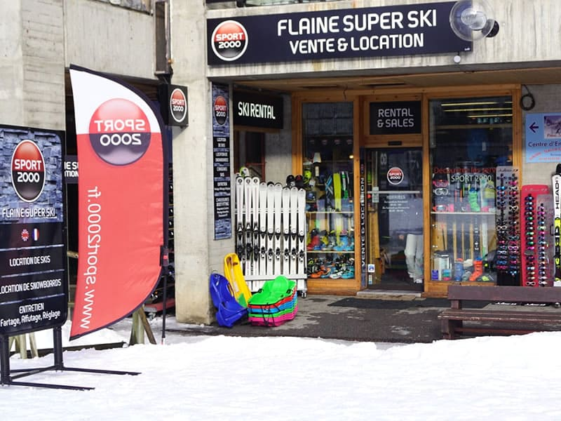 Ski hire shop FLAINE SUPER SKI, Flaine in Immeuble Aldébaran