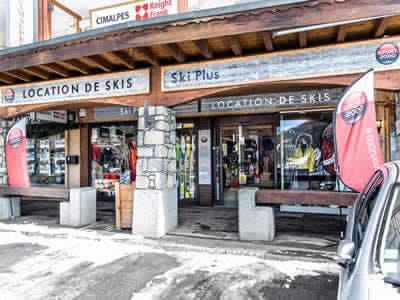 Ski hire shop SKI PLUS, Courchevel 1650 in Immeuble la Résidence