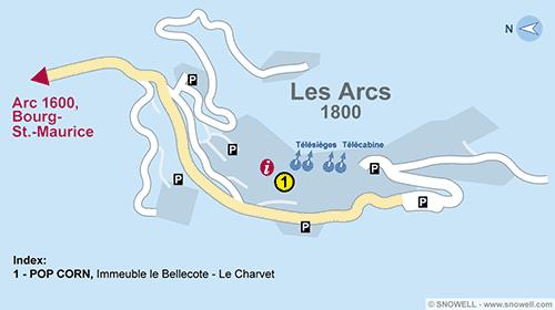 Ski Hire Les Arcs 2000 SNOWELL