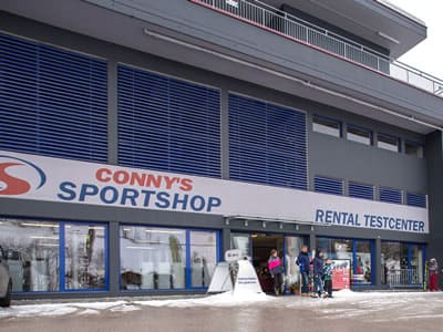 Ski hire shop Sport Conny's, Alpbach in Inneralpbach 553 [Talstation Pöglbahn]