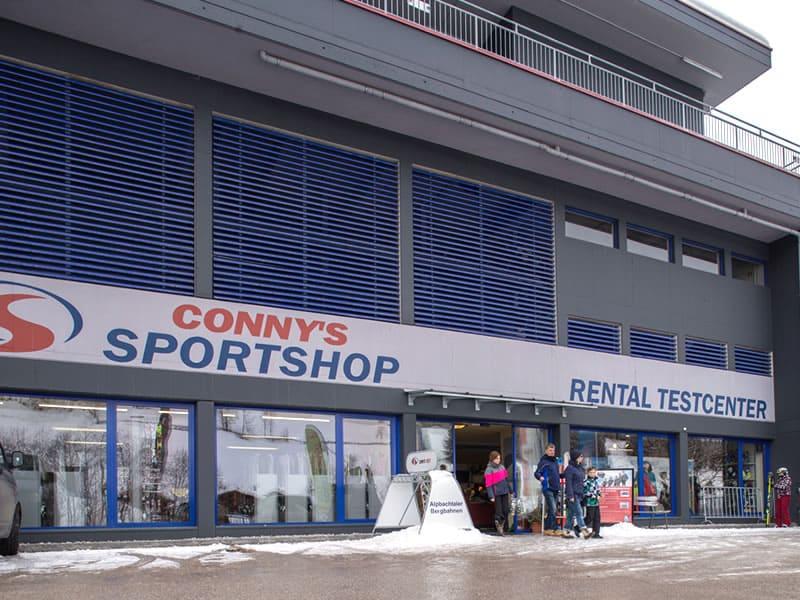 Ski hire shop Sport Conny's, Inneralpbach 553 [Talstation Pöglbahn] in Alpbach