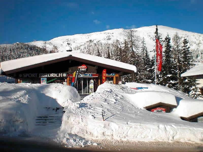 Ski hire shop Sportalm Friedrich, Katschberg 332 in Katschberg