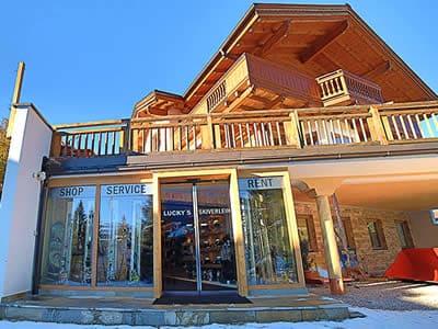 Ski hire shop Lucky's Skiverleih, Königsleiten-Wald in Königsleiten 78