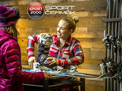 Ski hire shop Sport Cermak, Tanvald in Krkonosska 116