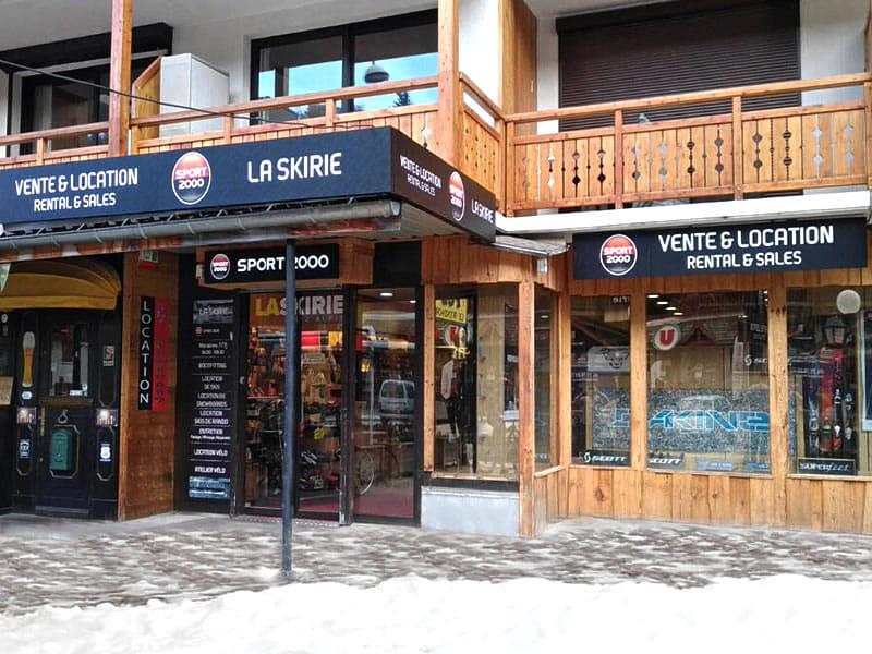 Ski hire shop LA SKIRIE, L'Eperon- 70 Avenue de la Muzelle in Les Deux Alpes