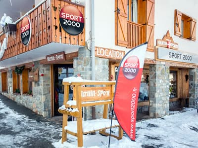 Ski hire shop MARTIN SPORTS, Valloire in L'Orée des Pistes