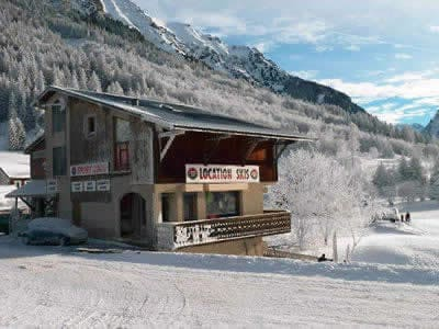 Ski hire shop LOULOU SPORTS, Alpe du Grand Serre in La Blache