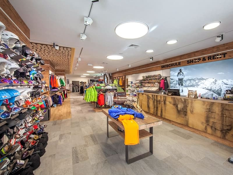 Ski hire shop Anmar Sports in Lärchenweg 17, Erpfendorf
