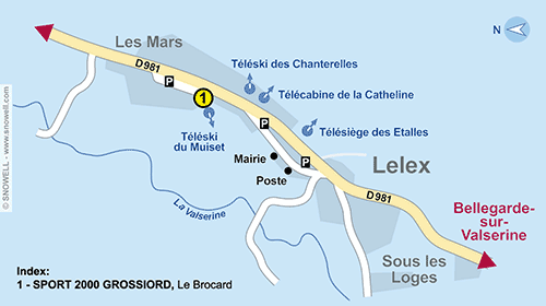 Resort Map Lelex