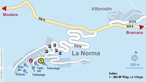 Resort Map La Norma