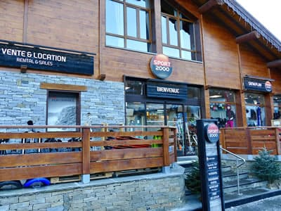 Ski hire shop Ski M'Play, La Norma in Le Village