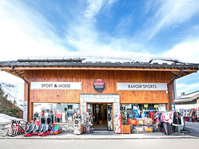 Ski hire shop RAVOIR'SPORTS, Saint Francois Longchamp in Les 4 vallées