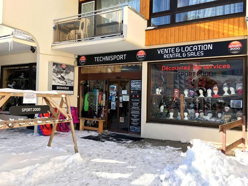 Ski hire shop TECHNISPORT, Les Adrets in Les 7 Laux-Prapoutel