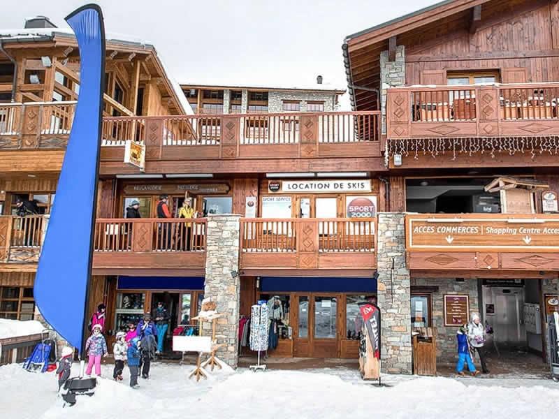 Ski hire shop SPORT SERVICE, La Rosiere in Les Eucherts