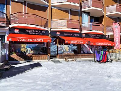Ski hire shop L'OUILLON SPORTS, Saint Sorlin d Arves in Les Gentianes - Le Bourg