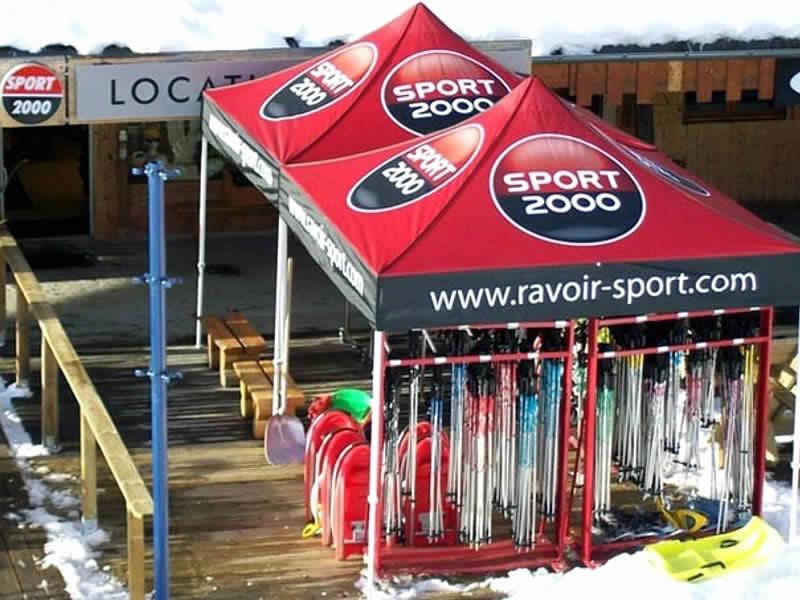 Ski hire shop RAVOIR'SPORTS, Saint Francois Longchamp in Les Longes