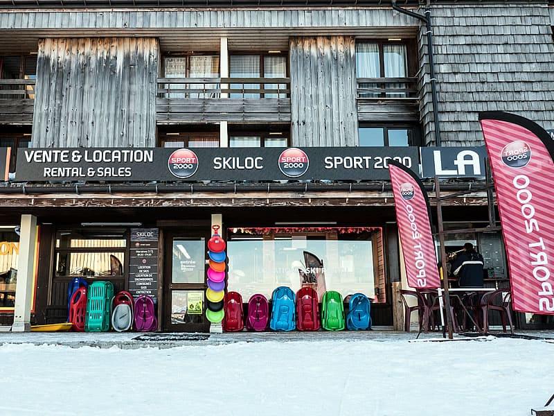 Ski hire shop SKI LOC in Les Plateaux de Saix, Samoëns 1600