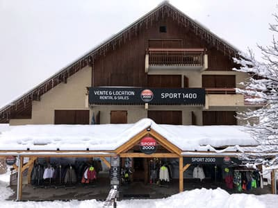 Ski hire shop SPORT 1400, Puy Saint Vincent 1400 in Les Près