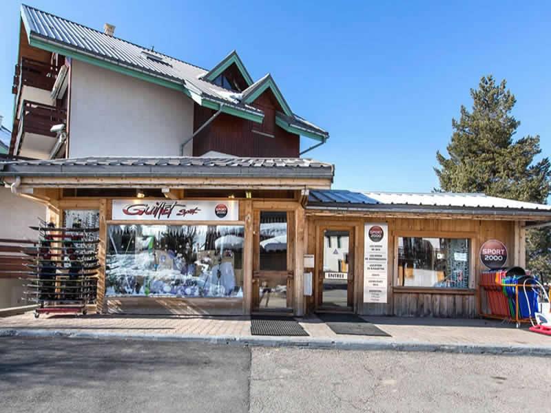 Ski hire shop GUILLET SPORT, Correncon-en-Vercors in Les Rambins