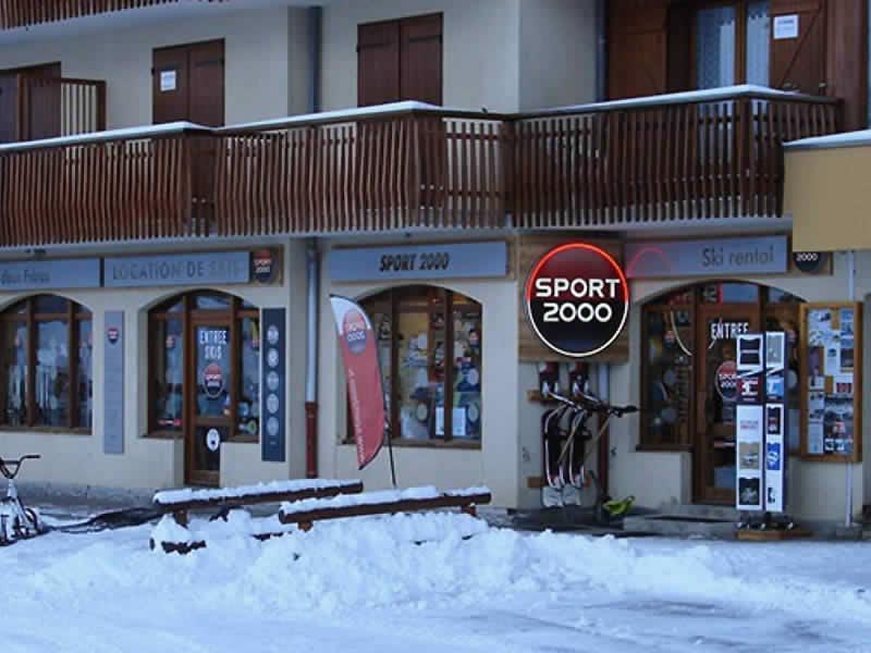 Ski hire shop AUX DEUX FRERES, Les Vernataux - Le Mollard in Albiez Montrond