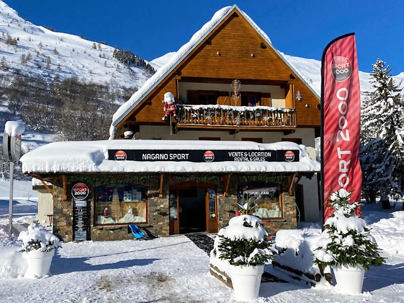 Ski hire shop NAGANO SPORT, Valloire in Les Verneys