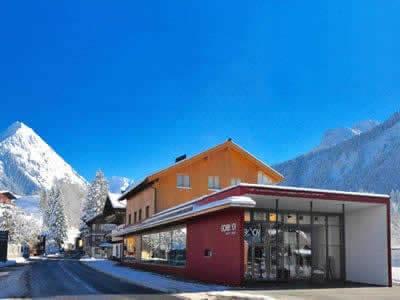 Ski hire shop Sport + Mode Gorbach, Au/Schoppernau in Lugen 95