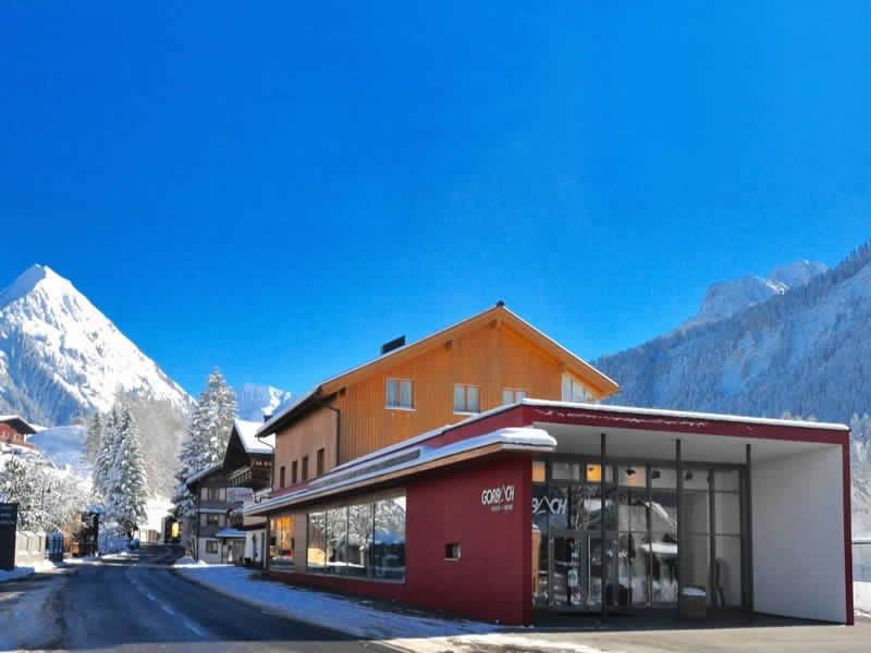 Ski hire shop Sport + Mode Gorbach, Lugen 95 in Au/Schoppernau