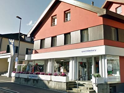 Ski hire shop Sportfactory Dumoulin, Bad Ragaz in Maienfelderstrasse 4
