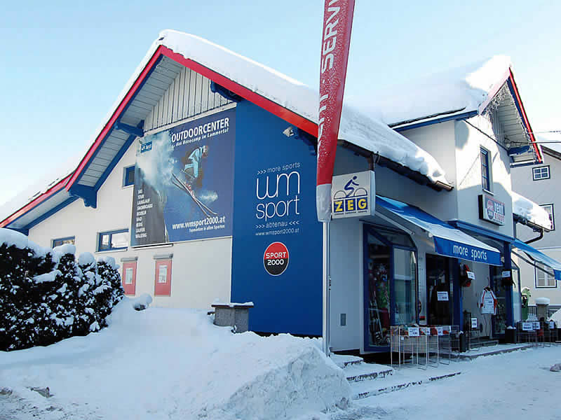 Ski hire shop WM - SPORT 2000, Markt 113 in Abtenau