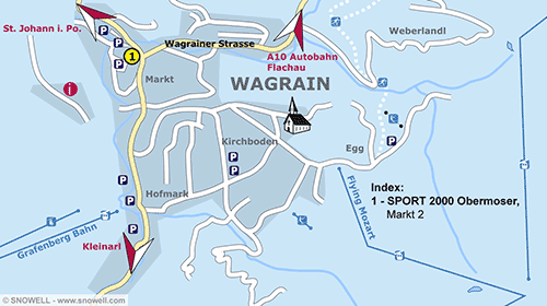 Resort Map Wagrain