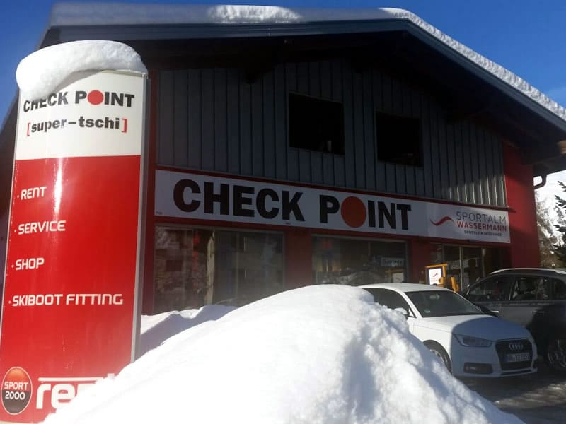 Ski hire shop Checkpoint Wassermann, Nauders 246 in Nauders
