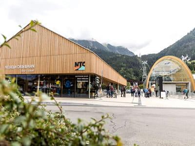 Ski hire shop NTC - Oberstdorf, Oberstdorf in Nebelhornstrasse 67 - Nebelhornbahn Talstation