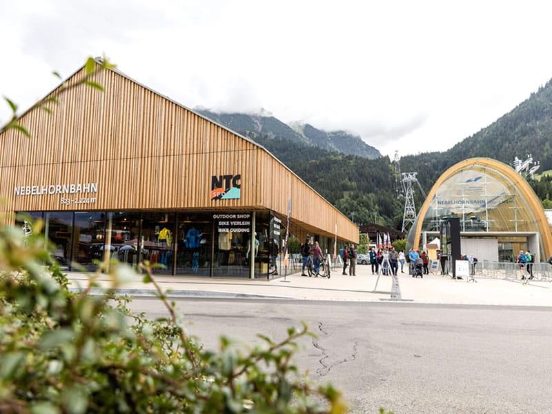 Ski hire shop NTC - Oberstdorf, Nebelhornstrasse 67 - Nebelhornbahn Talstation in Oberstdorf