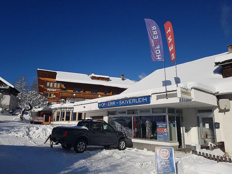 Ski hire shop Hofherr Sport, Oberdorf 9 [Hotel Tyrol] in Lermoos