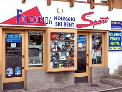 Ski hire shop FOLGARIDA SPORT, Folgarida in P.le Folgarida, 4/5